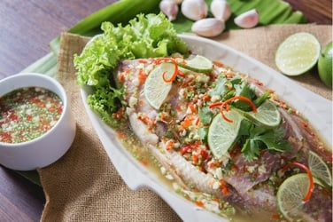 Best Confinement Recipes For Optimal Recovery: Steamed Tenggiri Fish