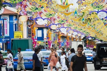 Little India = Colours, Food and More!