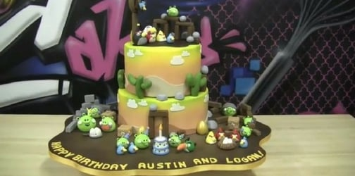 Coolest Angry Bird birthday cake in the world!