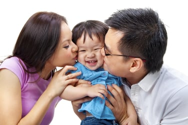 Want a happy family? Read this article for simple steps to nurture happiness...