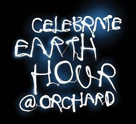 Celebrate Earth Hour 2012 at Orchard Road