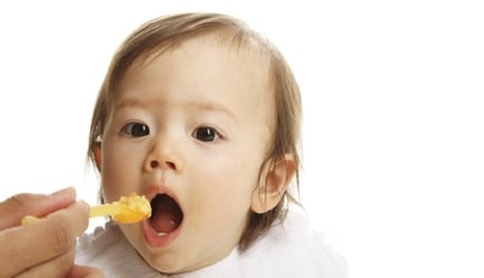 Dr Glenn Berall answers parents' questions about feeding