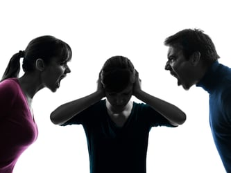 Why parents fight and why it's okay