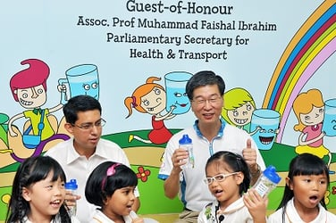 Let's Drink Water Campaign