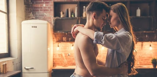 Master Chef: A sizzling, spicy sex position for the kitchen