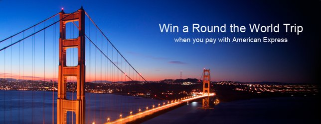 """Go """"Round the World"""" with American Express"""