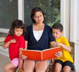 Story time with your children