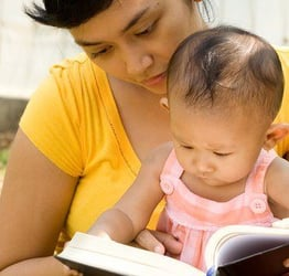 When do we start reading to our kids?
