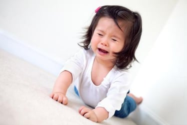 Childhood Tears and Tantrums Could Lead to Stroke and Heart Attack