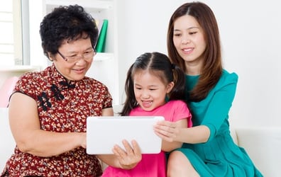 Handling grandparents and teaching the kids who's boss