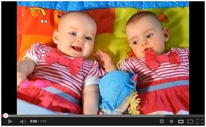 Miracle twins born 87 days apart