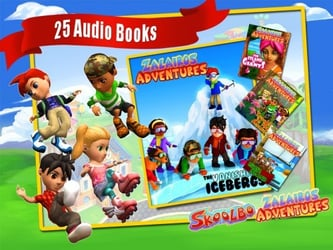 Skoolbo releases Zalairos Adventures collection for free