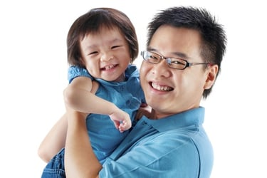 Training dads for baby care