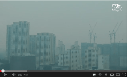When will the haze end?