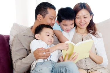 5 tips on getting your children to love reading!