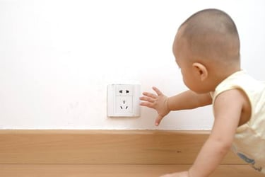 How to create a safe environment for baby's nursery