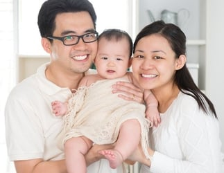 Can having a baby improve your marriage?