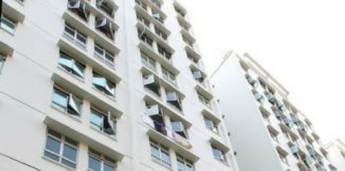 Six-year-old girl falls from high-rise apartment