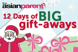 """Tickled Media Official Rules for theAsianparent.com's """"12 Days of BIG Gift-Aways"""""""