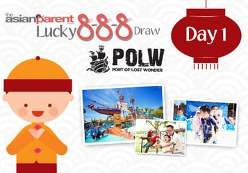 Lucky 8-8-8 Draw 1: Win Sentosa Port of Lost Wonder Annual Memberships and vouchers worth $290!