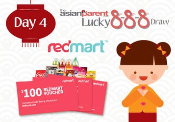 Lucky 8-8-8 Draw 4: Win RedMart grocery shopping vouchers worth $300