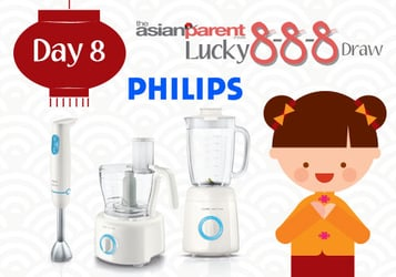 Lucky 8-8-8 Draw 8: Win Philips Jamie Oliver Kitchen tools worth $504