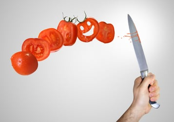 How to cut tomatoes like a pro!
