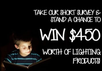 Win $450 worth of lighting products!