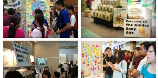 What do most Singaporeans want in the Jubilee Baby Pack?