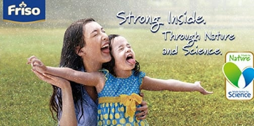 Friso Formula - Strong inside, through nature and science