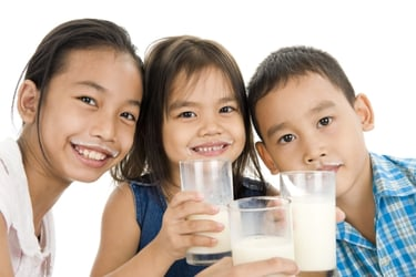 Time to milk it! Why milk is considered one of the best drinks to give kids after exercise