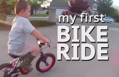 Lessons learnt from riding a bike for the first time