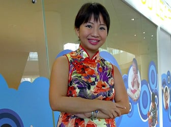 Right-brain training expert in Singapore: Agnes Ng