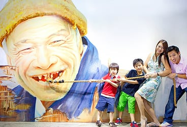 Enjoy a 4D visual thrill at Alive Museum Singapore!