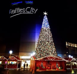 Santa Claus from Finland and a list of exciting activities @ Raffles City!