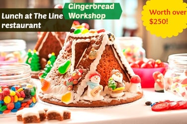 Win lunch at The Line & entry to Gingerbread Workshop at Shangri-La Singapore (Worth over $250)!