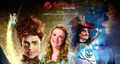 Win 4 tickets to watch Peter Pan, The Never Ending Story at Resorts World™ Theatre, worth $552!