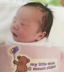 Actress Yvonne Lim gives birth to baby boy