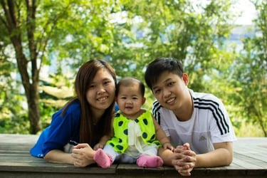 For The Love Of Family: An Inspirational Young Mum's Story Of Determination To Succeed