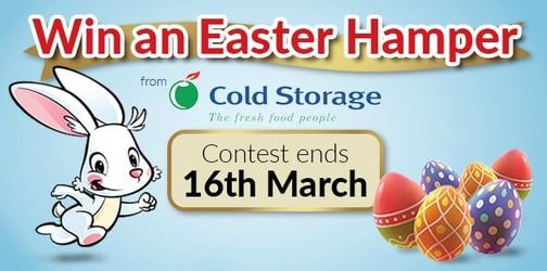 Win an Easter Hamper from Cold Storage!
