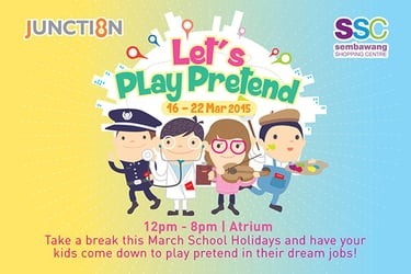 Let's Play Pretend at J8 and SSC!