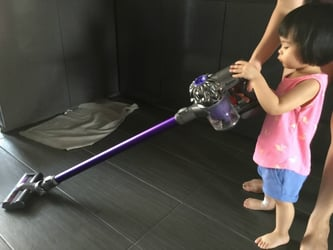 Dyson DC62 vacuum cleaner: A powerful vacuum cleaner that's perfect for busy mums!
