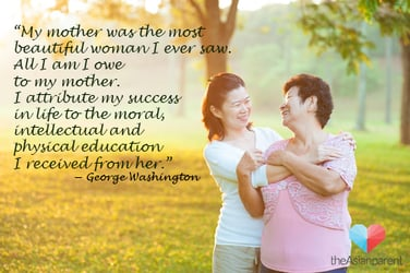 What is the most inspiring lesson you've learnt from your mum?
