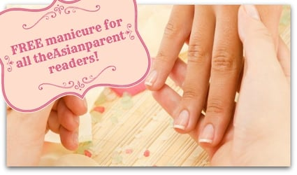 Enjoy a FREE Vanitee manicure and stand a chance to win an exclusive VanityTrove this Mother's Day!