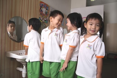 Develop an all-rounded child through character building