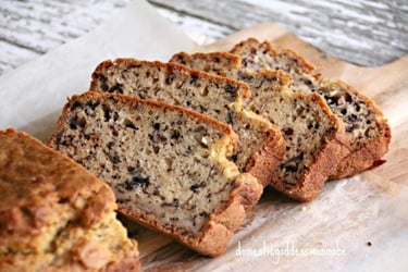 Buttermilk Banana Bread with Chia Seeds Recipe