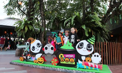 Have a spellbinding time at River Safari this October!
