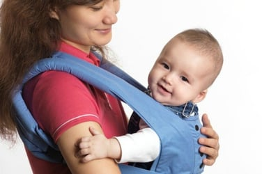Can baby carriers cause hip dysplasia in babies?
