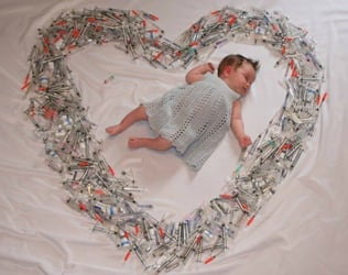 If you are an IVF mum, the photo in this article will make you cry...