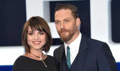 Tom Hardy and Charlotte Riley welcome their first baby